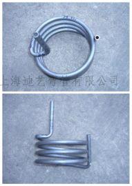 上海迪藝不鏽鋼盤管換熱器 冷卻盤管 壁掛爐盤管 鋼包爐冷卻盤管加工