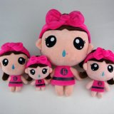 芬腾家居服定制吉祥物  可爱娃娃毛绒玩具 企业专属订制 来图定做