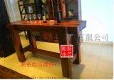 老船木吧台家用小吧台实木酒吧吧台椅组合会所装修家具餐厅