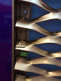 廣東佛山裝飾鋁板網,3mm厚氟碳噴塗鋁板網焊框