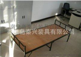 单人竹板折叠床