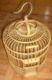 江桥竹藤生态装饰工艺品厂家批发定做竹制鸟笼 宠物笼 装饰鸟笼