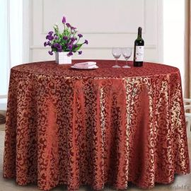 五星级酒店饭店大排档桌椅套件 餐馆刺绣提花椅子套