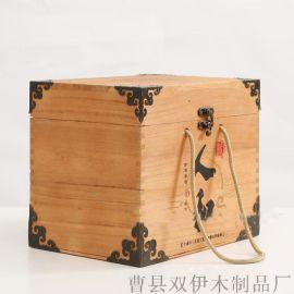 可定制木制酒盒白酒木盒包装 白酒包装盒 白酒木盒