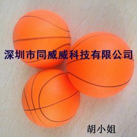 蓝球,发泡PU实心蓝球,儿童玩具练习蓝球