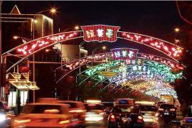 灯光节圣诞节街灯节日庆典美陈商场美陈中庭美陈大厅美