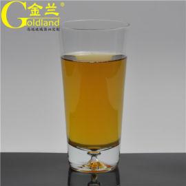 广告定制饮料杯,直身玻璃茶水杯,礼品玻璃杯定制