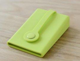 多功能创意硅胶按扣钥匙包