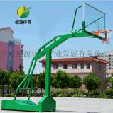 成人篮球架户外篮球架移动篮球架标准室外成人篮球架配钢化玻璃