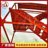 建宇供应 建筑模板安全爬梯 Q235钢管支架 厂家批发脚手架 3m一层
