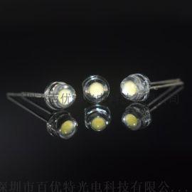 超大杯8-9lm F5草帽低衰白光灯 短脚led灯珠