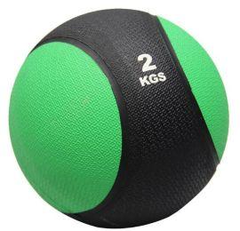2kg太极重力球 腰腹部康复训练球 橡胶球 实心球