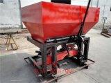 農場專用撒肥高手:容積1000升的雙圓盤撒肥機,撒化肥的機器,撒種子的撒播機。均勻高效好用