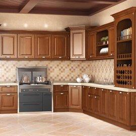 供應歐式實木櫥櫃 定制創意前衛整體櫥櫃