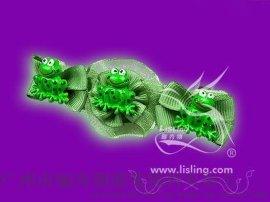 俪秀翎织带花饰,发夹SH004