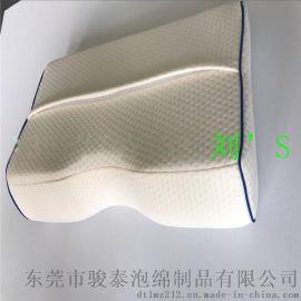 工厂常年生产供应空气层镶边蝶形枕加枕套