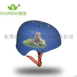 彩色骑行户外运动轮滑盔自行车头盔平衡车运动盔