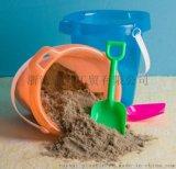 海边亲子游必备 户外儿童玩具 7英寸塑料沙滩桶带铲子