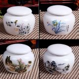 陶瓷茶叶罐厂家 陶瓷罐子批发