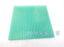 16mm草绿色四层阳光板