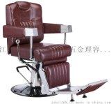 多功能可放倒理发椅液压男士理发椅