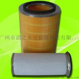 广州市除尘专家 K2433除尘滤芯滤筒 汽车风机空气滤芯 空气净化器