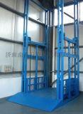 厂家供应双缸导轨链条式升降机,固定式剪刀叉升降平台