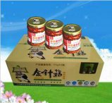 康華香辣金針菇瓶裝食用菌幹貨小吃美食零食廠家直銷12瓶175g