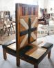 复古loft工业风实木沙发桌椅卡座北欧酒吧咖啡厅卡座沙发桌椅组合