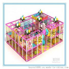 儿童淘气堡乐园设备 室内游乐场