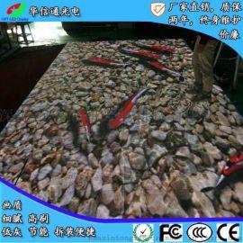 P4.81LED互動地磚屏地板面感應導軌顯示屏