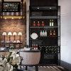 葡萄酒架 歐式不鏽鋼酒架定制 紅酒展示架