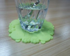 泰迪熊硅胶杯垫