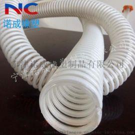 路面抛丸机专用软管PU塑筋螺旋软管