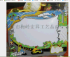 新加坡旅游相框定制 PVC软胶相框订制厂家