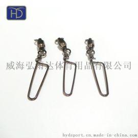 轴承转环+弧形别针不锈钢渔具连接器