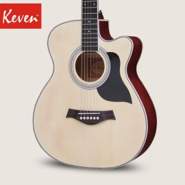 凱文吉他40寸41寸民謠吉他木吉他初學者入門吉他男女學生吉他樂器