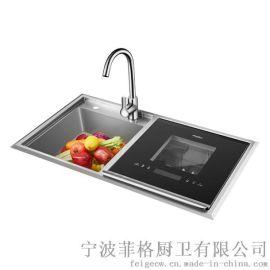 厂家直销家用智能洗碗机,水槽洗碗机,超声波洗碗机