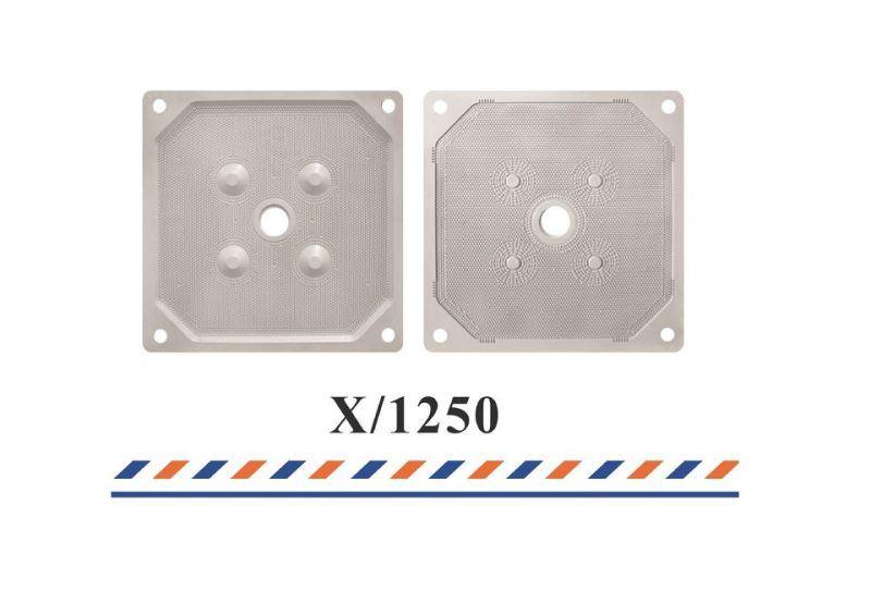 聚丙烯滤板 厢式压滤机1250滤板