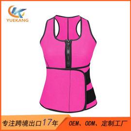 廠家直銷SBR燃脂塑身衣 加壓運動塑形束身衣