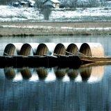 热销木船乌篷船仿古木船小型画舫船观光船手工制作木头船