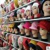 2017女士加绒加厚毛线帽 卡通儿童帽女士针织毛线帽厂家直销