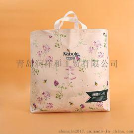 秦皇島無紡布購物袋廣告宣傳圖案定制綠色低碳