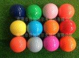 高尔夫两层礼品球 彩色 按要求颜色订做 印刷LOGO