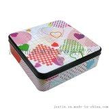 手工曲奇餅幹鐵盒 零食馬口鐵包裝 巧克力包裝盒