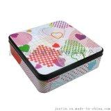 手工曲奇饼干铁盒 零食马口铁包装 巧克力包装盒