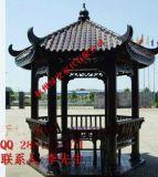 杭州廠家直銷 防腐木涼亭 碳化木六角亭古建木亭 承接木結構工程