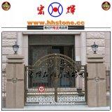 福建花岗岩大门柱 大理石门柱高1.8米