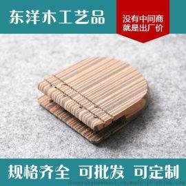 东洋木工艺品 高质化妆刷 U型化妆刷 实木化妆刷