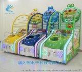 兒童投籃機遊樂城娛樂設備 電玩遊藝機廠家小豬籃球機